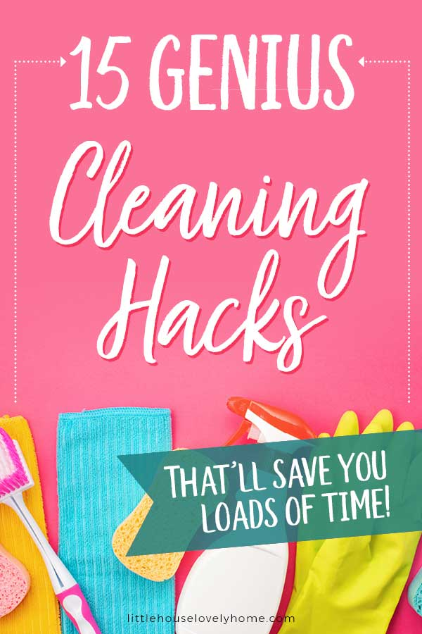 Genius cleaning hacks to help you clean your home in less time because we've all got better things to be doing.