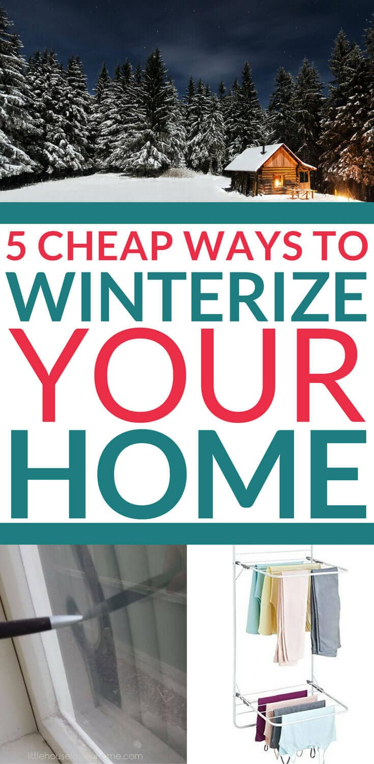 Looking for ways to winterize your home or just want to know how to reduce your electric bill this winter? These low-cost ideas will save you money and keep you warmer. Check them out.
