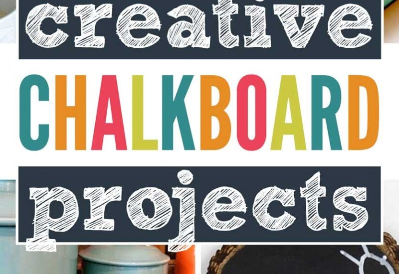 15 Creative Chalkboard Paint Projects You Need To Try At Home