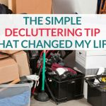 This simple decluttering tip changed my life. It allowed me to see my stuff in a new light and align the items I keep with my life goals. Check out the post to read more about how I declutter my small home.