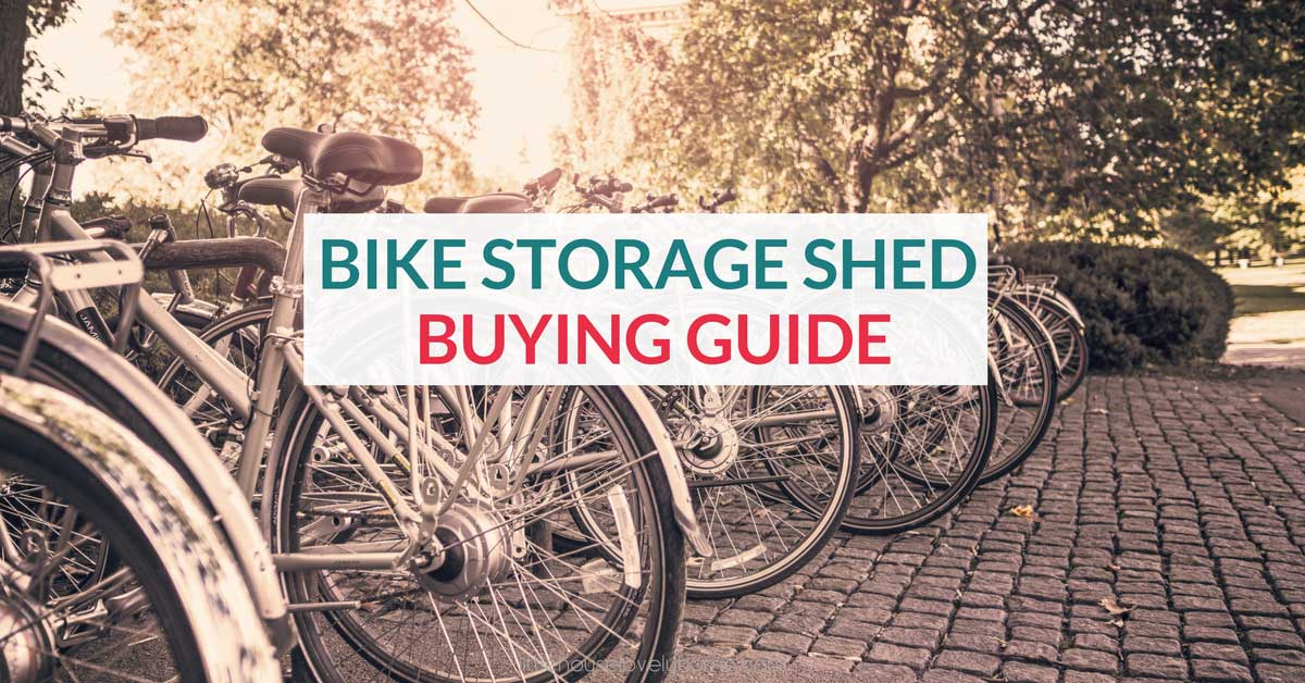 A Bicycle Storage Shed Is The Ultimate Outdoor Bike Storage Solution For A  Small Space.