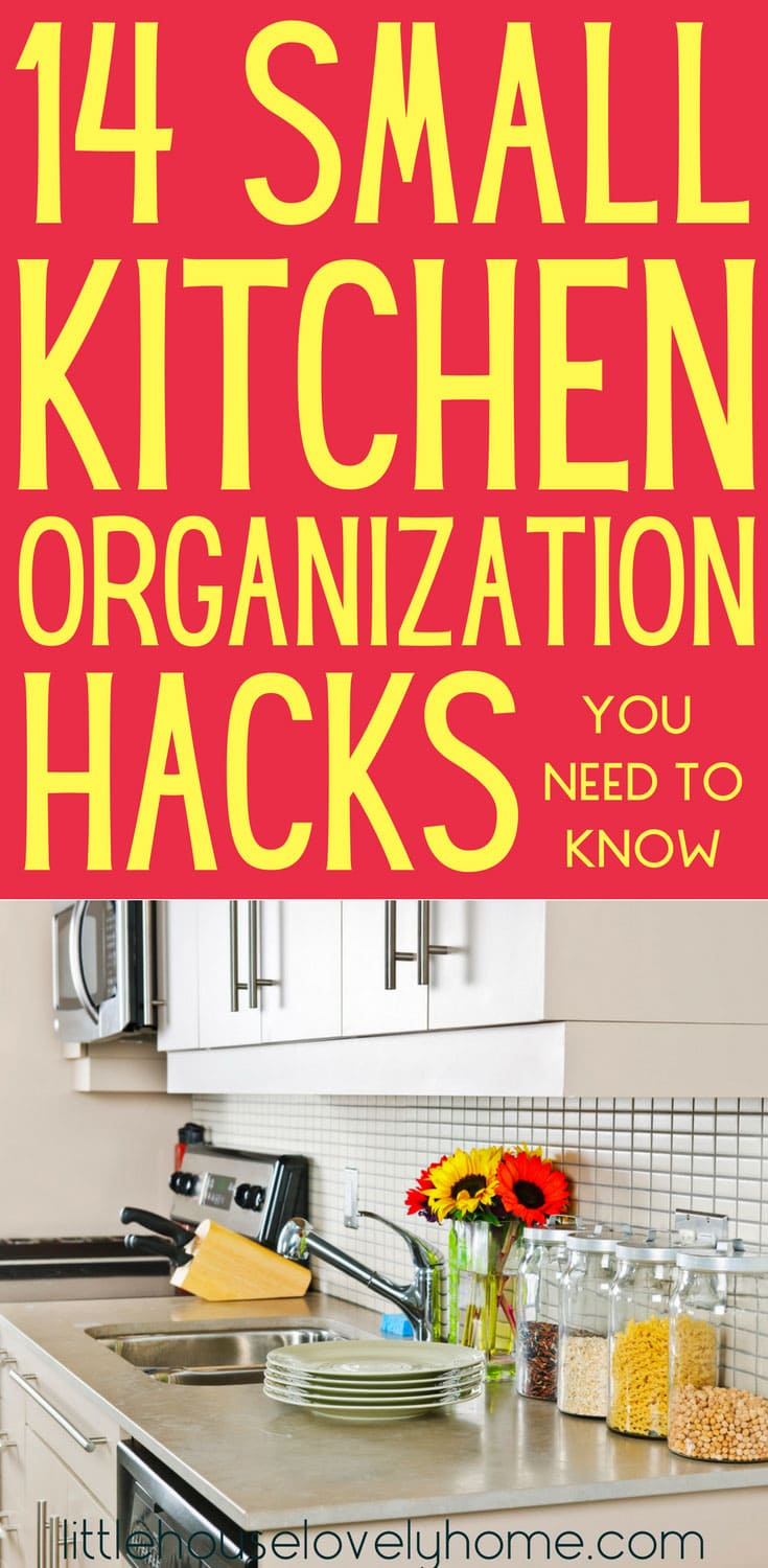 lovely kitchen storage ideas | 14 Clever Small Kitchen Organization Ideas You Need to Try