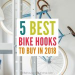Check out this review of the best bike hooks on the market today and get your bike off the floor today.
