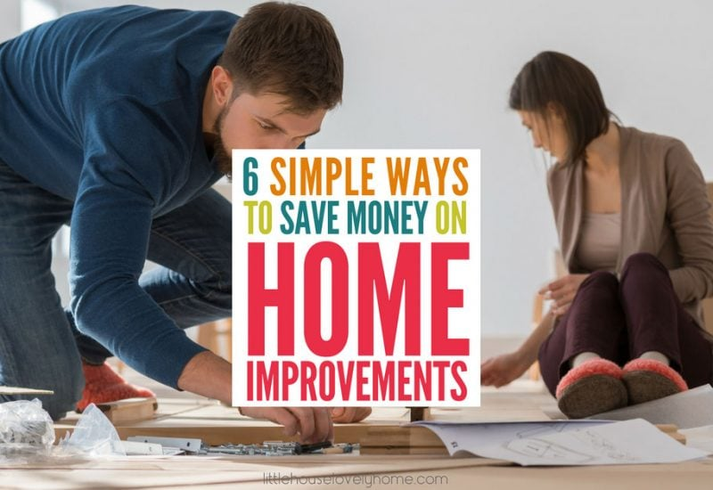 6 Simple Ways to Save on Renovation Costs
