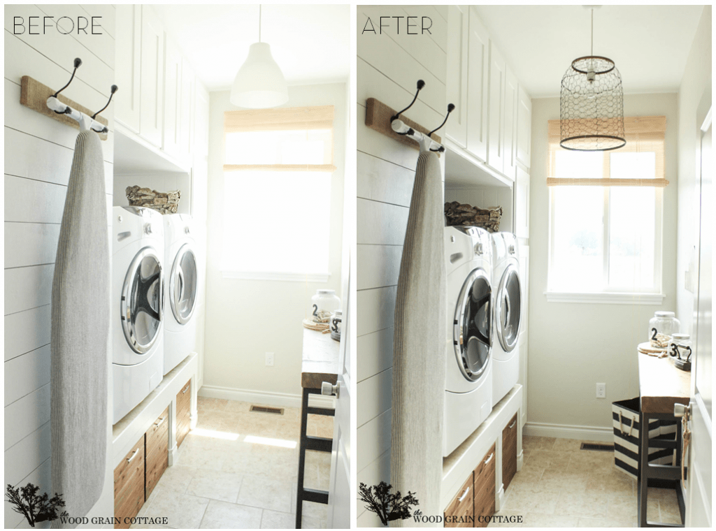 14 Small Laundry Room Ideas That'll Make You Swoon on Small Laundry Ideas  id=21731