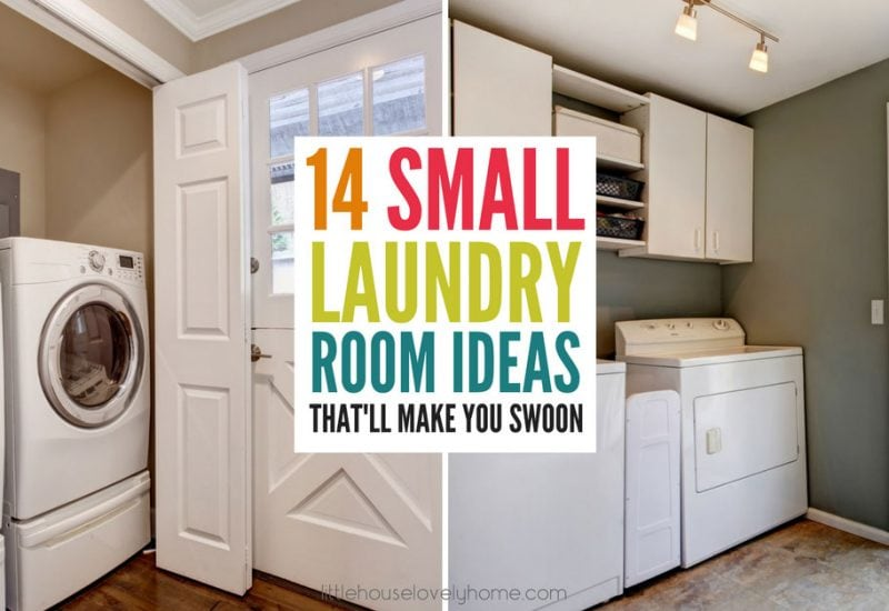 14 Small Laundry Room Ideas That'll Make You Swoon