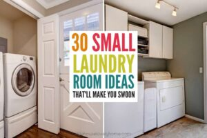 30 Small Laundry Room Ideas That'll Make You Swoon