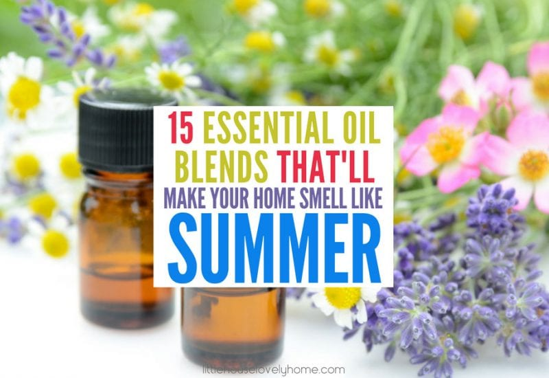 15 Essential Oil Blends That'll Make Your Home Smell like Summer