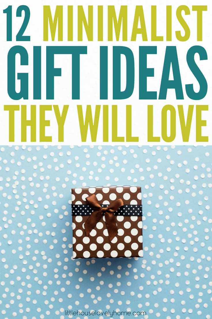 This gift guide for minimalists is written by a minimalist mom who despises clutter. Great ideas for useful or consumable minimalist gifts that'll definitely win their favor.