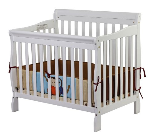 This Apartment Size Crib Includes 3 Different Mattress Heights And Can Convert Into A Day Bed Toddler Twin With The Optional Conversion Kit