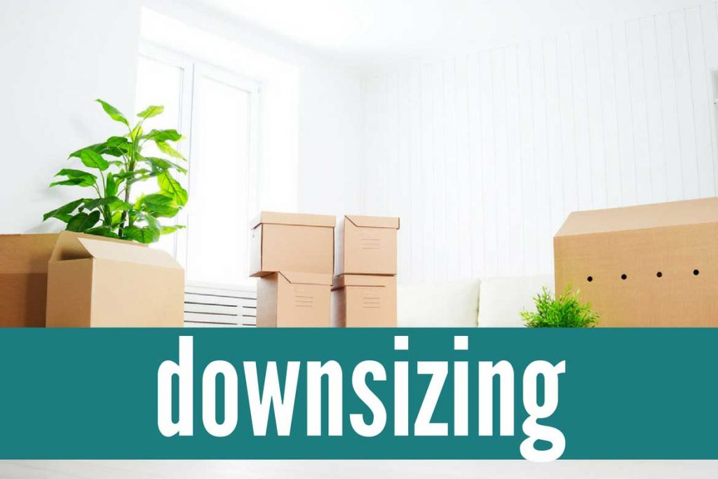 Tips and solutions for downsizing your home at any stage of life.