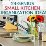 Looking for clever small kitchen ideas? Small space kitchen organization requires some creativity and forethought. Check out these brilliant ideas to find more space and create a small kitchen you love.