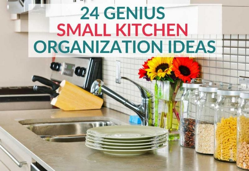 24 Insanely Clever Ways to Organize Your Small Kitchen