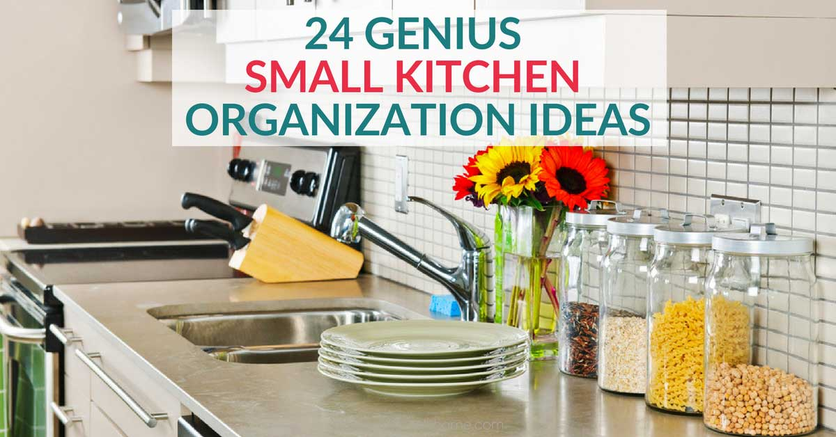 32312bb47e3 24 Clever Small Kitchen Organization Ideas You Need to Try