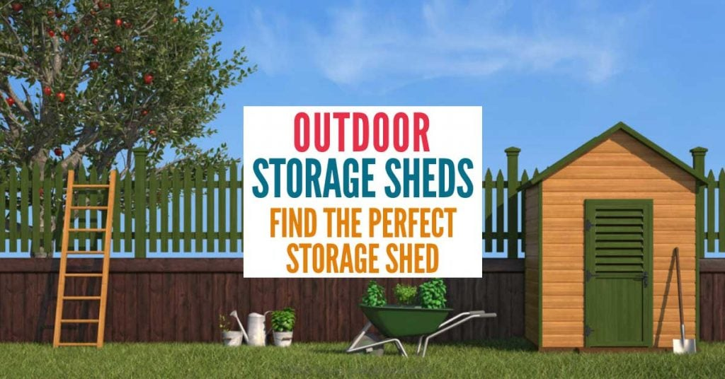 10 Outdoor Storage Sheds That'll Solve Your Storage Problems