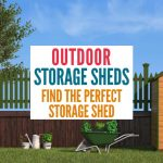 If you just need a little extra storage, using an specially designed outdoor storage locker is a great way to keep your stuff protected from the elements but out of the way.