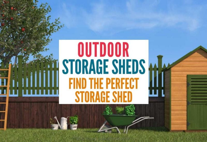 10 Outdoor Storage Sheds That Are Perfect for Small Gardens