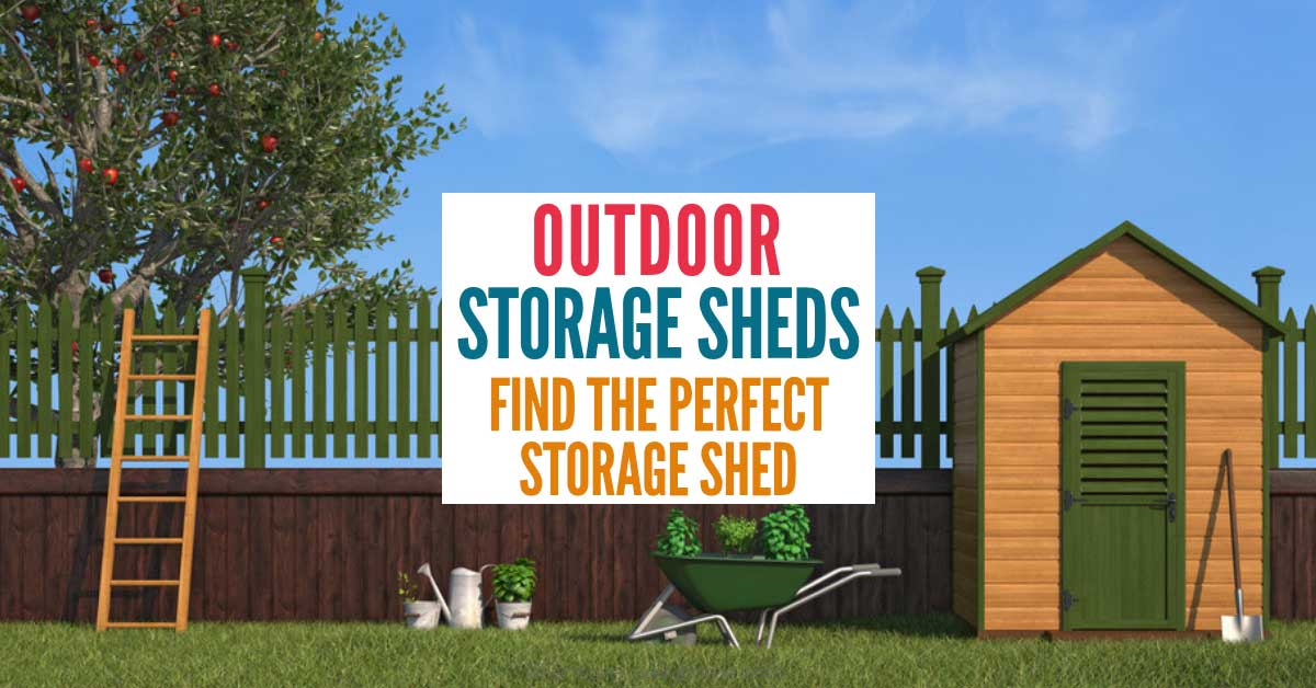 The Best Outdoor Storage Sheds For Offer Perfect Solution Storing Away Your Gardening Tools Lawn Mower Kid S Toys And Any Other Items