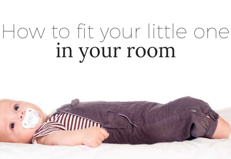 How to Make a Nursery in Your Bedroom