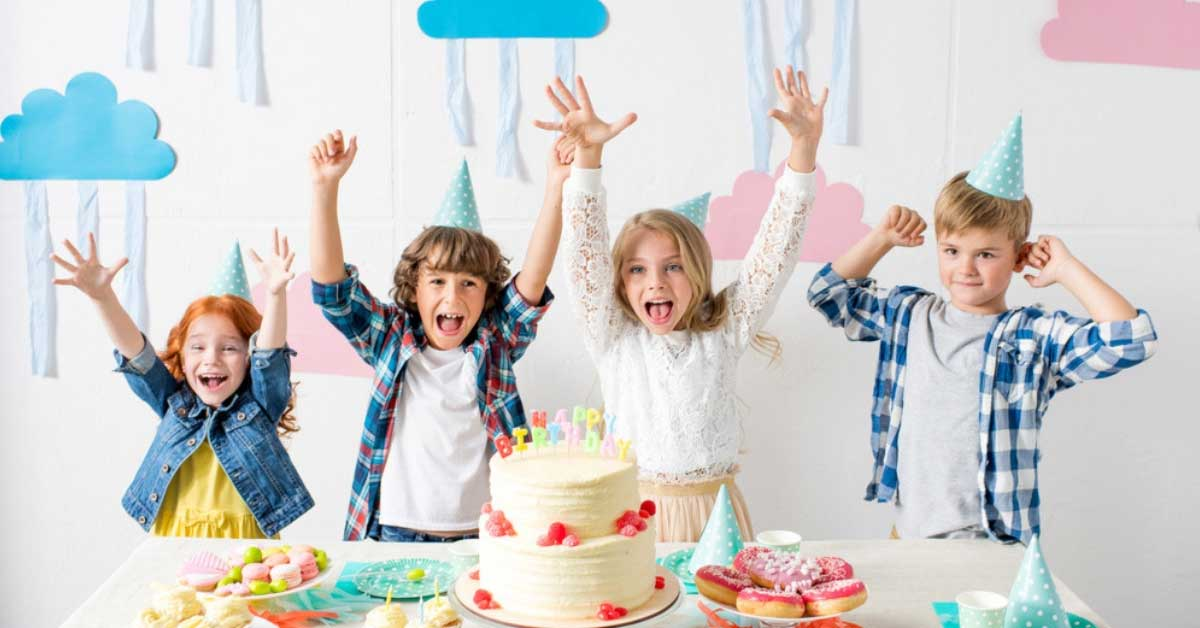 A fiver party puts the joy of birthday party ahead of the gift-giving experience.