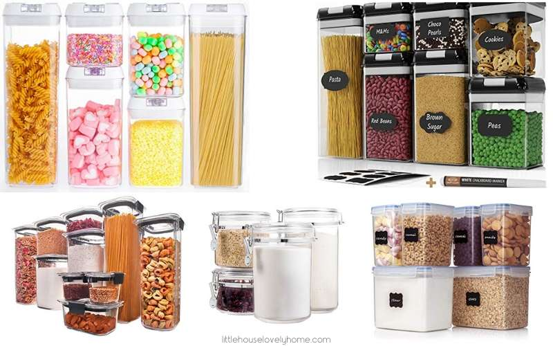 10 Dry Food Storage Containers Perfect for Small Kitchens