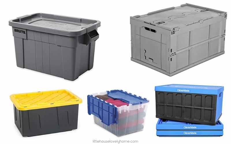 10 High-Quality Garage Storage Containers to Declutter Your Garage