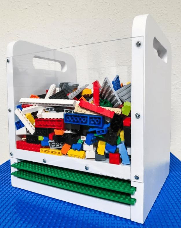 Portable LEGO bin