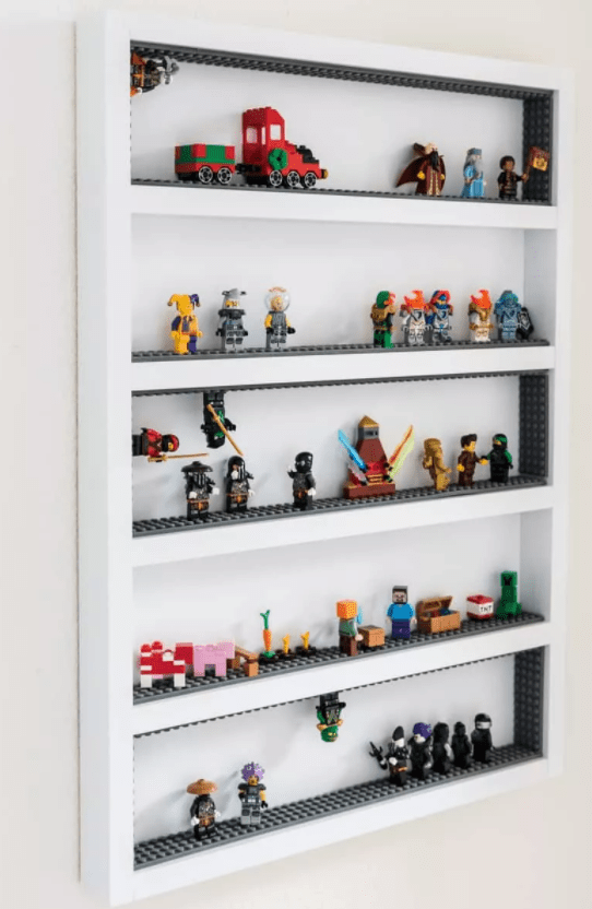 LEGO Minifigure Display Shelf