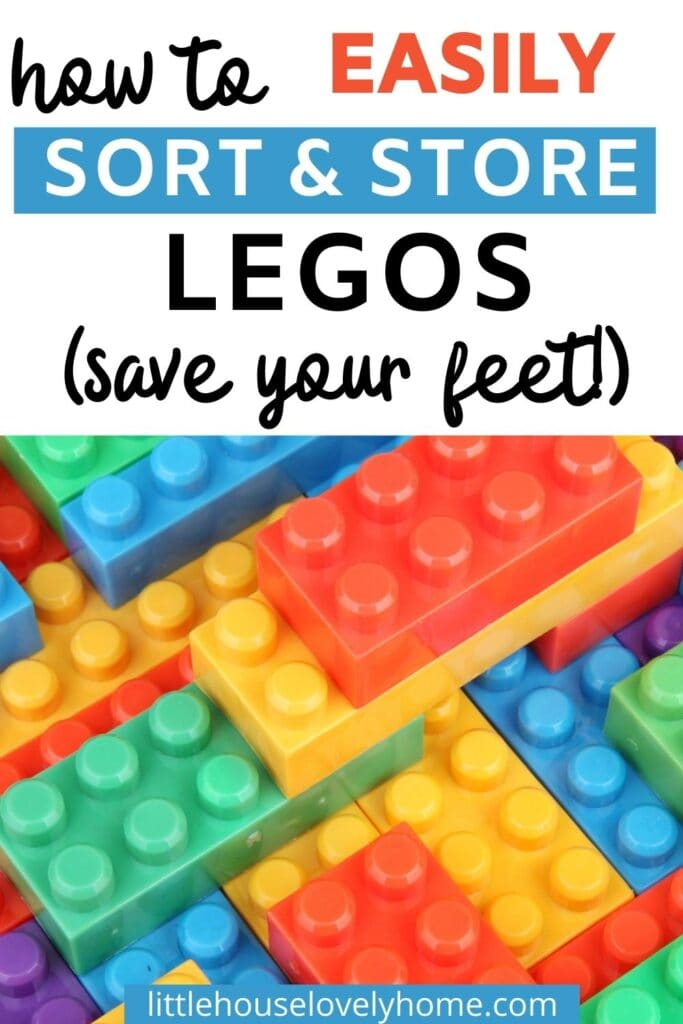 sort and store legos