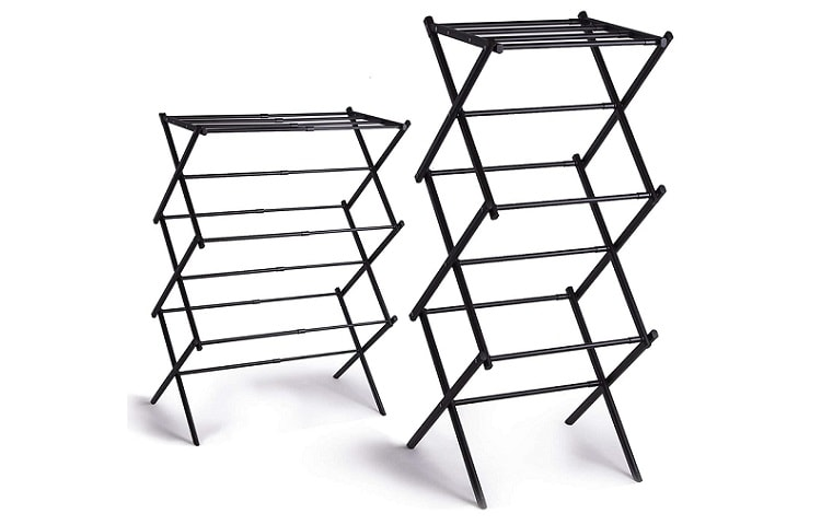 BINO 3-Tier Foldable Laundry Drying Rack review
