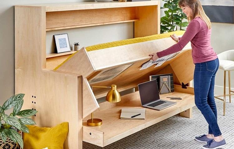 desk bed assemble