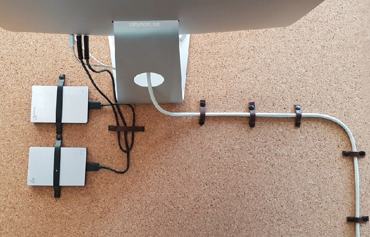 diy cable organizer