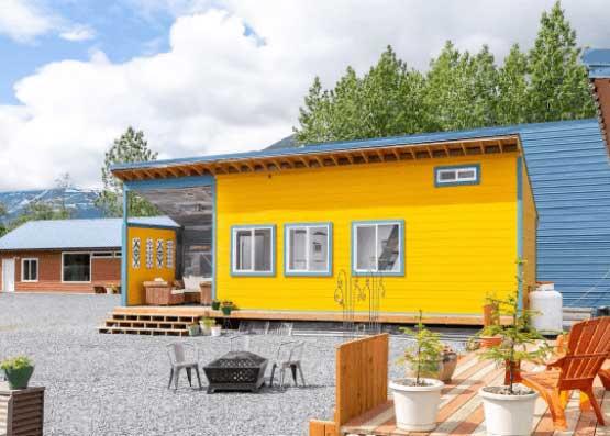 Tiny house in Alaska