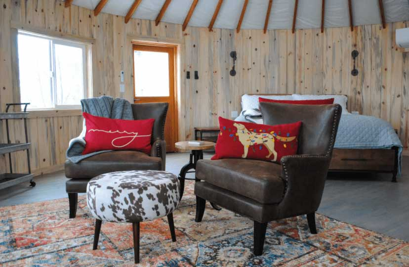 Yurt in colorado