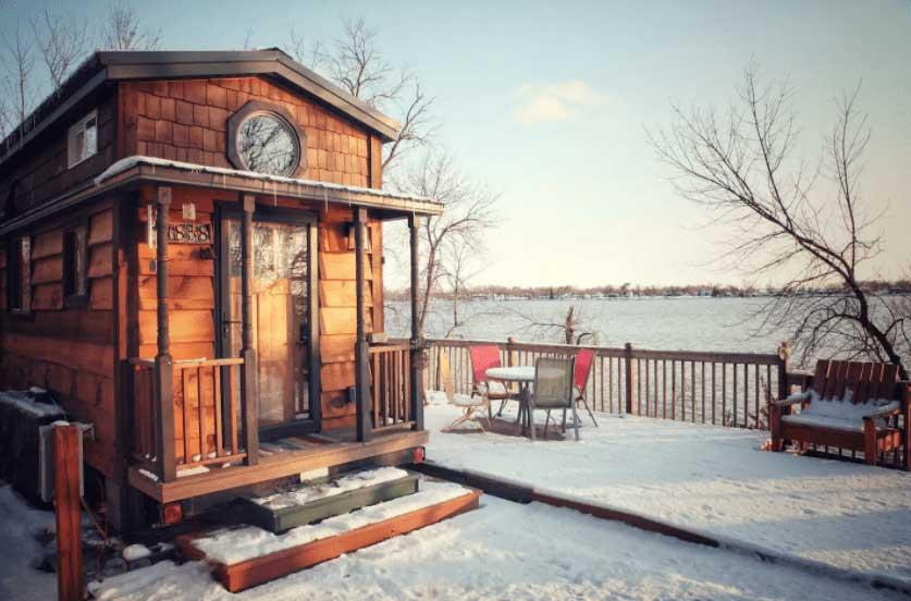 Minnesota Lakeshore Tiny House
