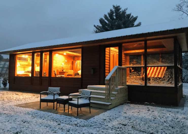 Custom Tiny House in Wisconsin