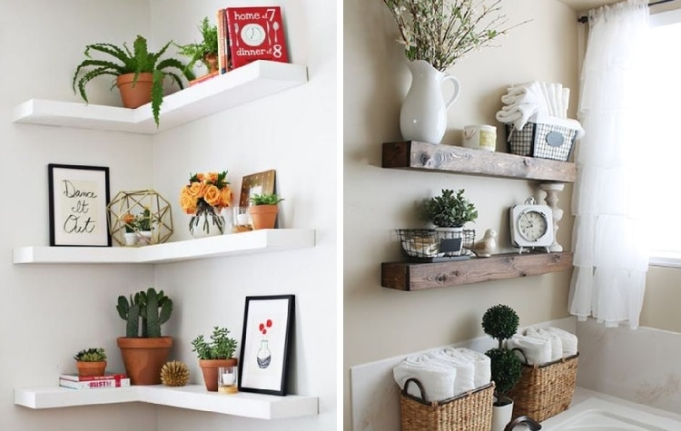 simple and easy diy shelves