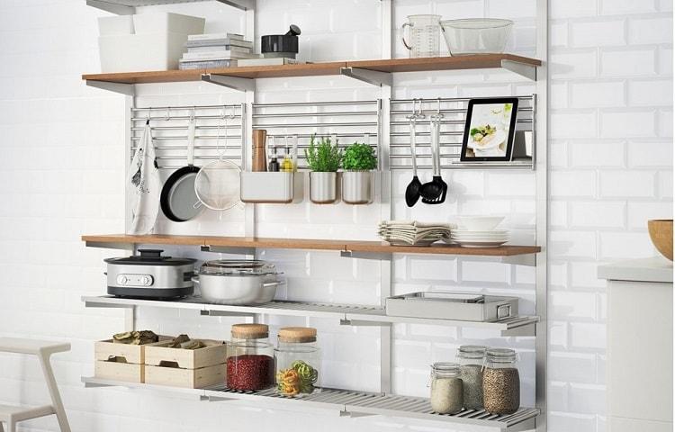 wall storage for kitchen