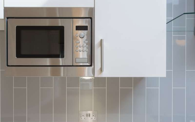 Where To Put The Microwave In A Small Kitchen Little House Lovely Home