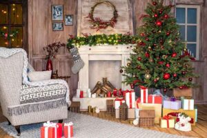 Where to Put a Christmas Tree in a Small Living Room
